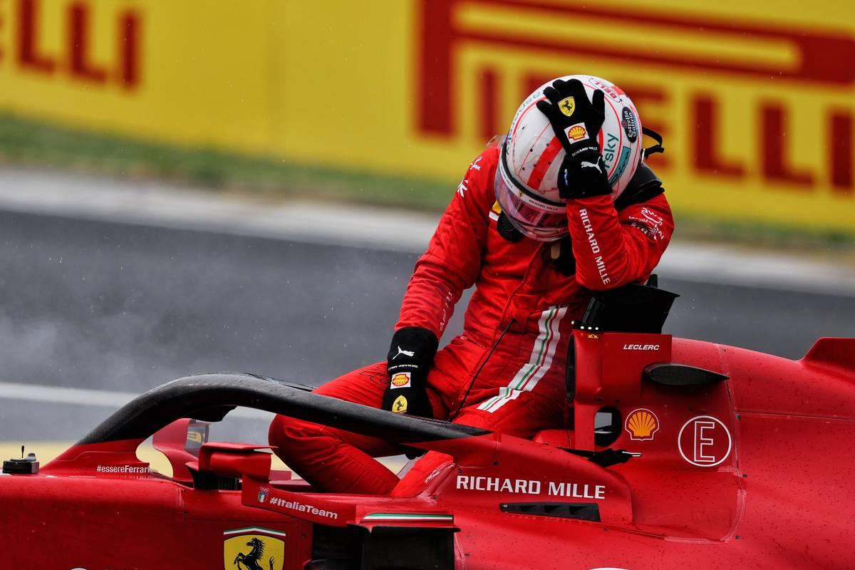Charles Leclerc (MON) Ferrari SF-21 retired from the race. 01.08.2021. Formula 1 World Championship, Rd 11, Hungarian Grand Prix, Budapest