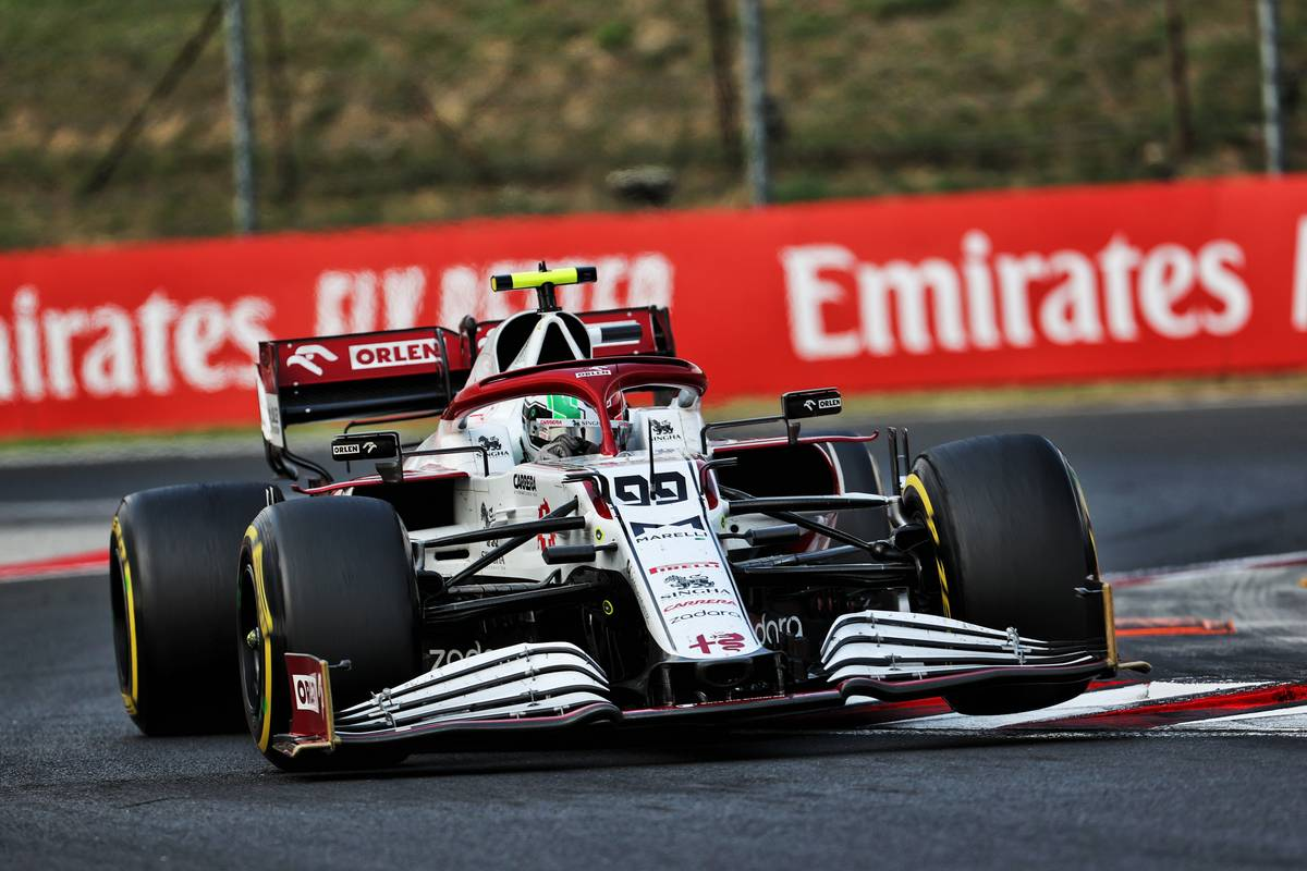 Antonio Giovinazzi (ITA) Alfa Romeo Racing C41. 01.08.2021. Formula 1 World Championship, Rd 11, Hungarian Grand Prix, Budapest