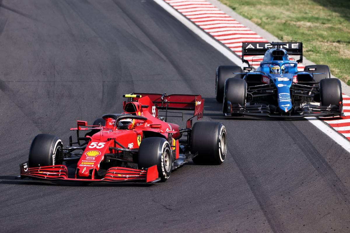 Carlos Sainz Jr (ESP) Ferrari SF-21. 01.08.2021. Formula 1 World Championship, Rd 11, Hungarian Grand Prix, Budapest