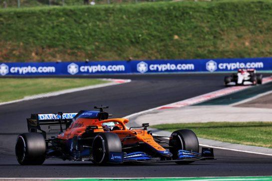 Daniel Ricciardo (AUS) McLaren MCL35M. 01.08.2021. Formula 1 World Championship, Rd 11, Hungarian Grand Prix, Budapest, Hungary, Race Day. - www.xpbimages.com, EMail: requests@xpbimages.com © Copyright: Batchelor / XPB Images