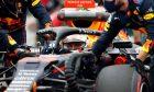 Max Verstappen (NLD) Red Bull Racing RB16B on the grid. 01.08.2021. Formula 1 World Championship, Rd 11, Hungarian Grand Prix, Budapest