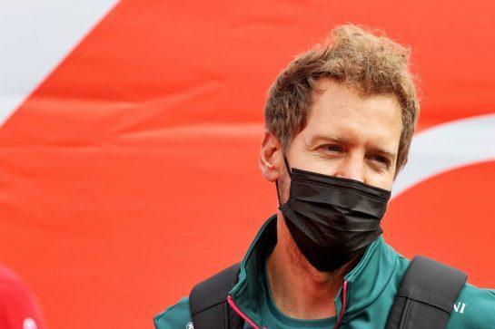 Sebastian Vettel (GER) Aston Martin F1 Team. 26.08.2021. Formula 1 World Championship, Rd 12, Belgian Grand Prix, Spa Francorchamps, Belgium, Preparation Day. - www.xpbimages.com, EMail: requests@xpbimages.com © Copyright: Moy / XPB Images