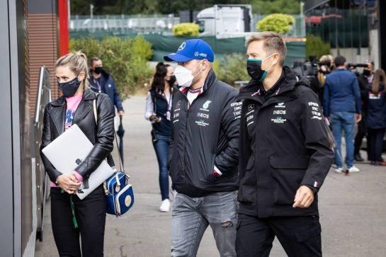 Valtteri Bottas (FIN) Mercedes AMG F1. 26.08.2021. Formula 1 World Championship, Rd 12, Belgian Grand Prix, Spa Francorchamps, Belgium, Preparation Day. - www.xpbimages.com, EMail: requests@xpbimages.com © Copyright: Bearne / XPB Images