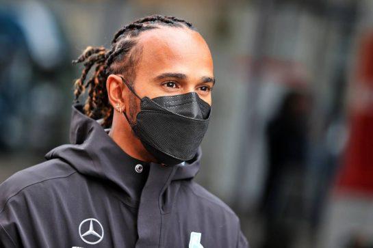 Lewis Hamilton (GBR) Mercedes AMG F1. 26.08.2021. Formula 1 World Championship, Rd 12, Belgian Grand Prix, Spa Francorchamps, Belgium, Preparation Day. - www.xpbimages.com, EMail: requests@xpbimages.com © Copyright: Moy / XPB Images