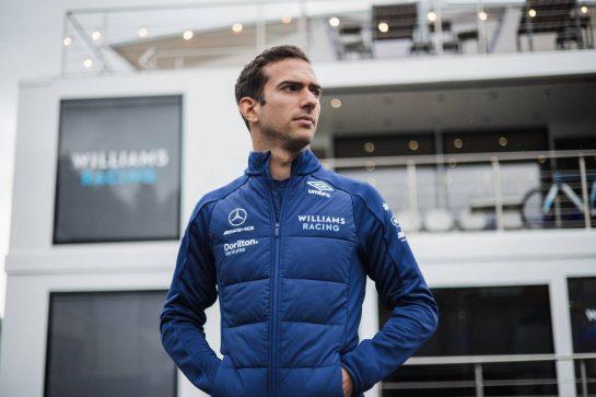 Nicholas Latifi (CDN) Williams Racing. 26.08.2021. Formula 1 World Championship, Rd 12, Belgian Grand Prix, Spa Francorchamps, Belgium, Preparation Day. - www.xpbimages.com, EMail: requests@xpbimages.com © Copyright: Bearne / XPB Images