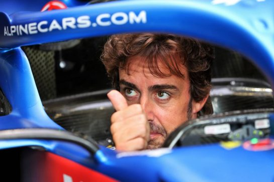 Fernando Alonso (ESP) Alpine F1 Team A521. 26.08.2021. Formula 1 World Championship, Rd 12, Belgian Grand Prix, Spa Francorchamps, Belgium, Preparation Day. - www.xpbimages.com, EMail: requests@xpbimages.com © Copyright: Moy / XPB Images
