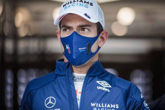 Nicholas Latifi (CDN) Williams Racing. 27.08.2021. Formula 1 World Championship, Rd 12, Belgian Grand Prix, Spa Francorchamps, Belgium, Practice Day. - www.xpbimages.com, EMail: requests@xpbimages.com © Copyright: Bearne / XPB Images
