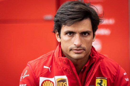 Carlos Sainz Jr (ESP) Ferrari. 27.08.2021. Formula 1 World Championship, Rd 12, Belgian Grand Prix, Spa Francorchamps, Belgium, Practice Day. - www.xpbimages.com, EMail: requests@xpbimages.com © Copyright: Bearne / XPB Images