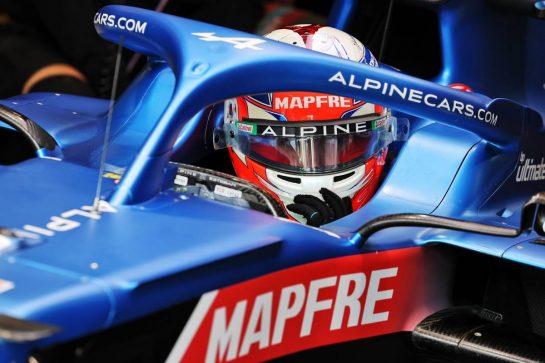 Esteban Ocon (FRA) Alpine F1 Team A521. 27.08.2021. Formula 1 World Championship, Rd 12, Belgian Grand Prix, Spa Francorchamps, Belgium, Practice Day. - www.xpbimages.com, EMail: requests@xpbimages.com © Copyright: Moy / XPB Images