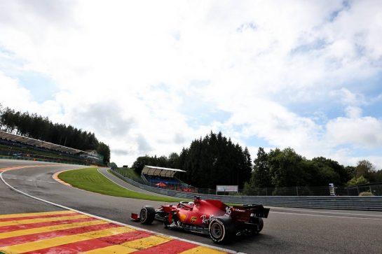 Charles Leclerc (MON) Ferrari SF-21. 27.08.2021. Formula 1 World Championship, Rd 12, Belgian Grand Prix, Spa Francorchamps, Belgium, Practice Day. - www.xpbimages.com, EMail: requests@xpbimages.com © Copyright: Charniaux / XPB Images