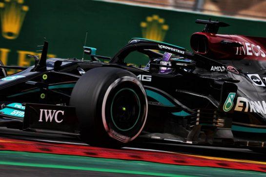Lewis Hamilton (GBR) Mercedes AMG F1 W12. 27.08.2021. Formula 1 World Championship, Rd 12, Belgian Grand Prix, Spa Francorchamps, Belgium, Practice Day. - www.xpbimages.com, EMail: requests@xpbimages.com © Copyright: Batchelor / XPB Images