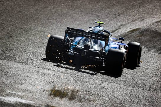 Nicholas Latifi (CDN), Williams Racing 27.08.2021. Formula 1 World Championship, Rd 12, Belgian Grand Prix, Spa Francorchamps, Belgium, Practice Day.- www.xpbimages.com, EMail: requests@xpbimages.com © Copyright: Charniaux / XPB Images