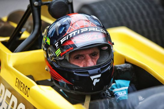 Emerson Fittipaldi (BRA) in his Copersucar. 27.08.2021. Formula 1 World Championship, Rd 12, Belgian Grand Prix, Spa Francorchamps, Belgium, Practice Day. - www.xpbimages.com, EMail: requests@xpbimages.com © Copyright: XPB Images
