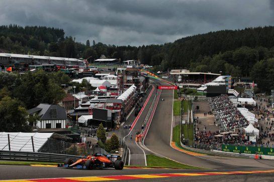 Daniel Ricciardo (AUS) McLaren MCL35M. 27.08.2021. Formula 1 World Championship, Rd 12, Belgian Grand Prix, Spa Francorchamps, Belgium, Practice Day. - www.xpbimages.com, EMail: requests@xpbimages.com © Copyright: XPB Images