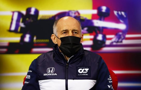 Franz Tost (AUT) AlphaTauri Team Principal in the FIA Press Conference. 27.08.2021. Formula 1 World Championship, Rd 12, Belgian Grand Prix, Spa Francorchamps, Belgium, Practice Day. - www.xpbimages.com, EMail: requests@xpbimages.com © Copyright: FIA Pool Image for Editorial Use Only