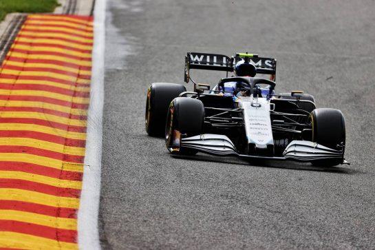 Nicholas Latifi (CDN) Williams Racing FW43B. 27.08.2021. Formula 1 World Championship, Rd 12, Belgian Grand Prix, Spa Francorchamps, Belgium, Practice Day. - www.xpbimages.com, EMail: requests@xpbimages.com © Copyright: Batchelor / XPB Images