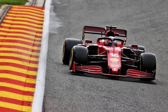 Charles Leclerc (MON) Ferrari SF-21. 27.08.2021. Formula 1 World Championship, Rd 12, Belgian Grand Prix, Spa Francorchamps, Belgium, Practice Day. - www.xpbimages.com, EMail: requests@xpbimages.com © Copyright: Batchelor / XPB Images