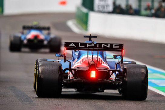 Fernando Alonso (ESP) Alpine F1 Team A521. 27.08.2021. Formula 1 World Championship, Rd 12, Belgian Grand Prix, Spa Francorchamps, Belgium, Practice Day. - www.xpbimages.com, EMail: requests@xpbimages.com © Copyright: Moy / XPB Images