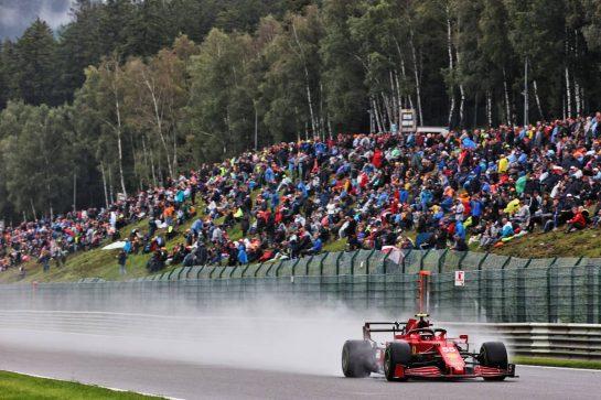 Carlos Sainz Jr (ESP) Ferrari SF-21. 28.08.2021. Formula 1 World Championship, Rd 12, Belgian Grand Prix, Spa Francorchamps, Belgium, Qualifying Day. - www.xpbimages.com, EMail: requests@xpbimages.com © Copyright: Batchelor / XPB Images