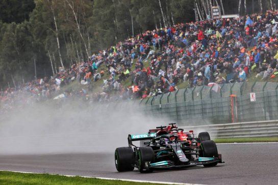 Lewis Hamilton (GBR) Mercedes AMG F1 W12. 28.08.2021. Formula 1 World Championship, Rd 12, Belgian Grand Prix, Spa Francorchamps, Belgium, Qualifying Day. - www.xpbimages.com, EMail: requests@xpbimages.com © Copyright: Batchelor / XPB Images