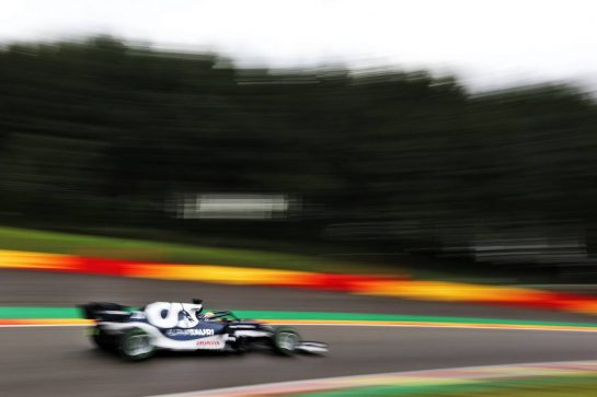 Yuki Tsunoda (JPN) AlphaTauri AT02. 28.08.2021. Formula 1 World Championship, Rd 12, Belgian Grand Prix, Spa Francorchamps, Belgium, Qualifying Day. - www.xpbimages.com, EMail: requests@xpbimages.com © Copyright: Charniaux / XPB Images