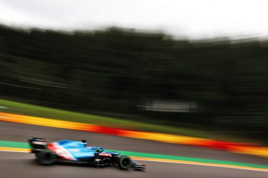 Fernando Alonso (ESP) Alpine F1 Team A521. 28.08.2021. Formula 1 World Championship, Rd 12, Belgian Grand Prix, Spa Francorchamps, Belgium, Qualifying Day. - www.xpbimages.com, EMail: requests@xpbimages.com © Copyright: Charniaux / XPB Images