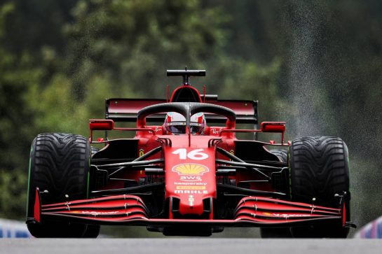 Charles Leclerc (MON) Ferrari SF-21. 28.08.2021. Formula 1 World Championship, Rd 12, Belgian Grand Prix, Spa Francorchamps, Belgium, Qualifying Day. - www.xpbimages.com, EMail: requests@xpbimages.com © Copyright: Moy / XPB Images