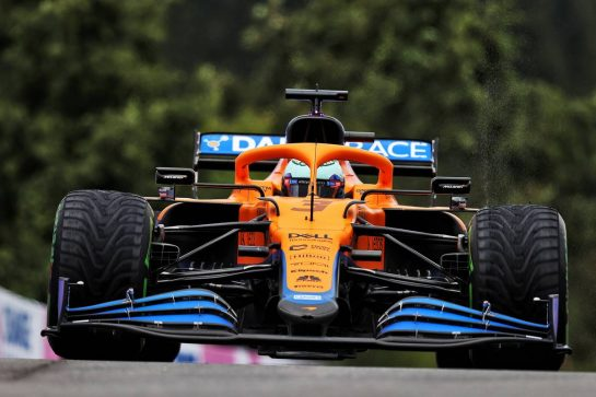 Daniel Ricciardo (AUS) McLaren MCL35M. 28.08.2021. Formula 1 World Championship, Rd 12, Belgian Grand Prix, Spa Francorchamps, Belgium, Qualifying Day. - www.xpbimages.com, EMail: requests@xpbimages.com © Copyright: Moy / XPB Images