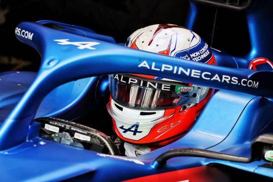 Esteban Ocon (FRA) Alpine F1 Team A521. 28.08.2021. Formula 1 World Championship, Rd 12, Belgian Grand Prix, Spa Francorchamps, Belgium, Qualifying Day. - www.xpbimages.com, EMail: requests@xpbimages.com © Copyright: Moy / XPB Images