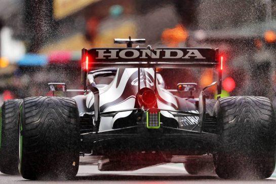 Yuki Tsunoda (JPN) AlphaTauri AT02. 28.08.2021. Formula 1 World Championship, Rd 12, Belgian Grand Prix, Spa Francorchamps, Belgium, Qualifying Day. - www.xpbimages.com, EMail: requests@xpbimages.com © Copyright: Moy / XPB Images