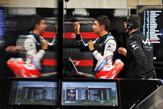 Esteban Ocon (FRA) Alpine F1 Team. 28.08.2021. Formula 1 World Championship, Rd 12, Belgian Grand Prix, Spa Francorchamps, Belgium, Qualifying Day. - www.xpbimages.com, EMail: requests@xpbimages.com © Copyright: Moy / XPB Images