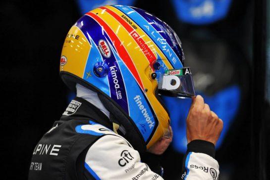 Fernando Alonso (ESP) Alpine F1 Team. 28.08.2021. Formula 1 World Championship, Rd 12, Belgian Grand Prix, Spa Francorchamps, Belgium, Qualifying Day. - www.xpbimages.com, EMail: requests@xpbimages.com © Copyright: Moy / XPB Images