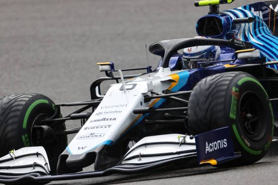 Nicholas Latifi (CDN), Williams Racing 28.08.2021. Formula 1 World Championship, Rd 12, Belgian Grand Prix, Spa Francorchamps, Belgium, Qualifying Day.- www.xpbimages.com, EMail: requests@xpbimages.com © Copyright: Charniaux / XPB Images