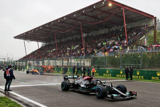 Lewis Hamilton (GBR) Mercedes AMG F1 W12. 29.08.2021. Formula 1 World Championship, Rd 12, Belgian Grand Prix, Spa Francorchamps, Belgium, Race Day. - www.xpbimages.com, EMail: requests@xpbimages.com © Copyright: Moy / XPB Images