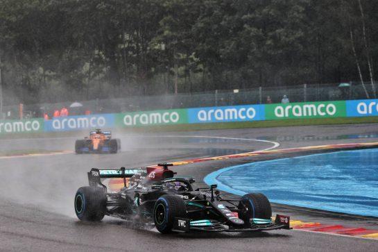Lewis Hamilton (GBR) Mercedes AMG F1 W12. 29.08.2021. Formula 1 World Championship, Rd 12, Belgian Grand Prix, Spa Francorchamps, Belgium, Race Day. - www.xpbimages.com, EMail: requests@xpbimages.com © Copyright: Batchelor / XPB Images