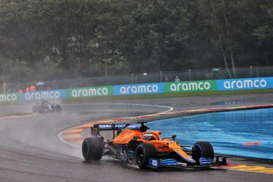 Daniel Ricciardo (AUS) McLaren MCL35M. 29.08.2021. Formula 1 World Championship, Rd 12, Belgian Grand Prix, Spa Francorchamps, Belgium, Race Day. - www.xpbimages.com, EMail: requests@xpbimages.com © Copyright: Batchelor / XPB Images