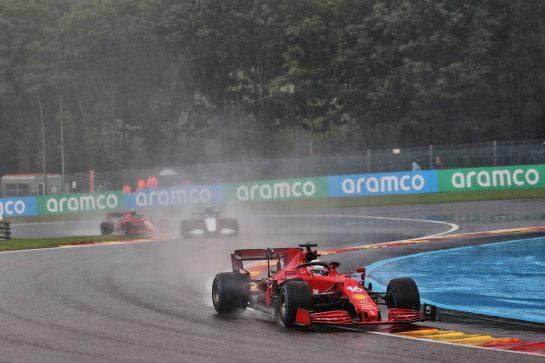 Charles Leclerc (MON) Ferrari SF-21. 29.08.2021. Formula 1 World Championship, Rd 12, Belgian Grand Prix, Spa Francorchamps, Belgium, Race Day. - www.xpbimages.com, EMail: requests@xpbimages.com © Copyright: Batchelor / XPB Images