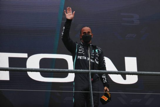 3rd place Lewis Hamilton (GBR) Mercedes AMG F1 W12.29.08.2021. Formula 1 World Championship, Rd 12, Belgian Grand Prix, Spa Francorchamps, Belgium, Race Day.- www.xpbimages.com, EMail: requests@xpbimages.com © Copyright: Batchelor / XPB Images