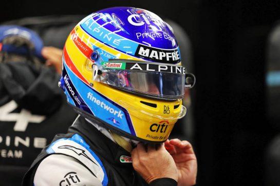 Fernando Alonso (ESP) Alpine F1 Team. 29.08.2021. Formula 1 World Championship, Rd 12, Belgian Grand Prix, Spa Francorchamps, Belgium, Race Day. - www.xpbimages.com, EMail: requests@xpbimages.com © Copyright: Moy / XPB Images