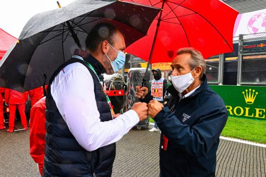 Jacky Ickx (BEL) on the grid. 29.08.2021. Formula 1 World Championship, Rd 12, Belgian Grand Prix, Spa Francorchamps, Belgium, Race Day. - www.xpbimages.com, EMail: requests@xpbimages.com © Copyright: FIA Pool Image for Editorial Use Only