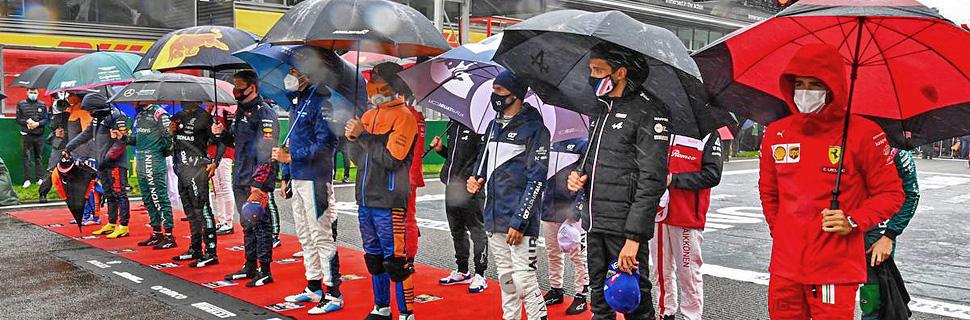 Drivers on the grid. 29.08.2021. Formula 1 World Championship, Rd 12, Belgian Grand Prix, Spa