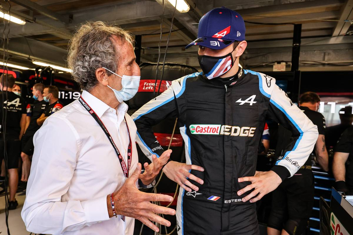 Prost: Ocon win provides 'much necessary' boost to Alpine morale