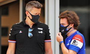 Alpine's Budkowski 'blown away' by Alonso race craft