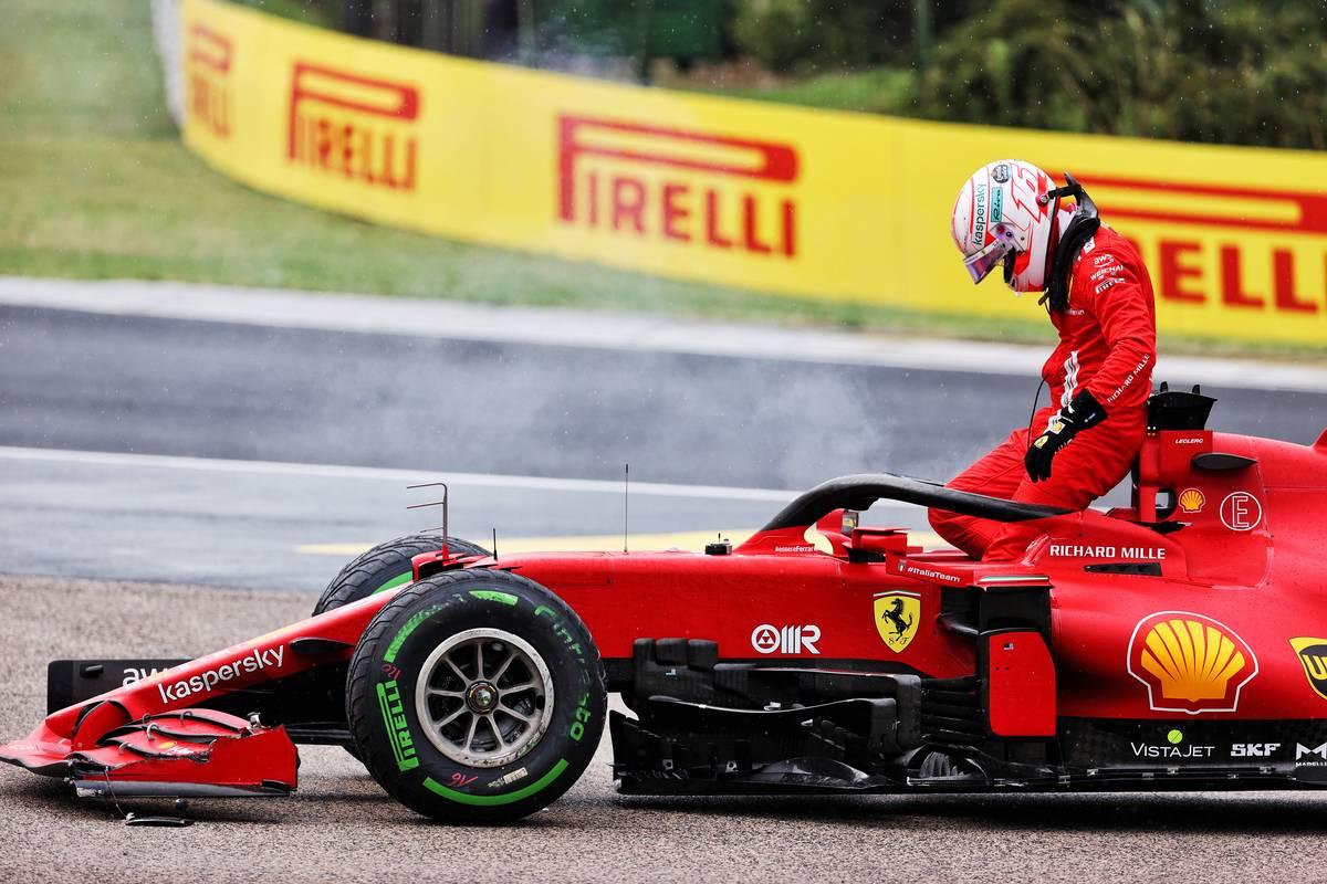 Ferrari discards Leclerc's Hungary engine - penalty looms