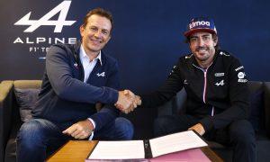 Alpine confirms Alonso alongside Ocon for 2022