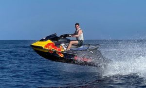 A full send for F1's flying Dutchman