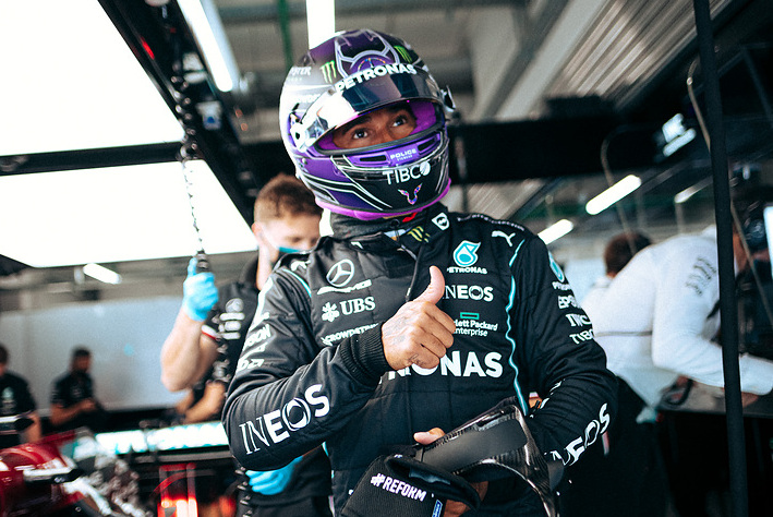 Hamilton: Pitlane blunder not the result of 'pressure'