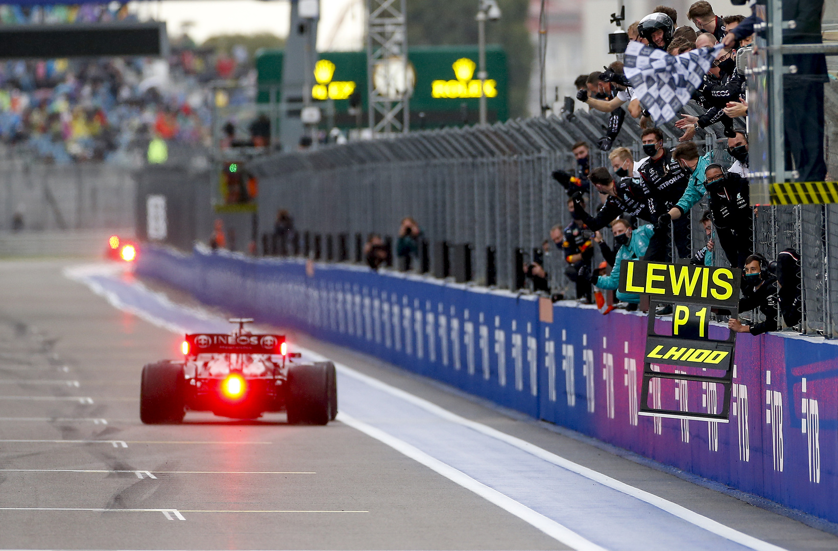 Brawn: 'Staggering' Hamilton could reach 120 wins in F1