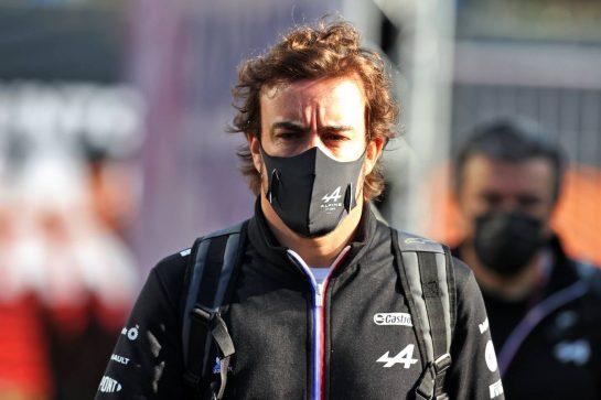 Fernando Alonso (ESP) Alpine F1 Team. 03.09.2021. Formula 1 World Championship, Rd 13, Dutch Grand Prix, Zandvoort, Netherlands, Practice Day. - www.xpbimages.com, EMail: requests@xpbimages.com © Copyright: Moy / XPB Images