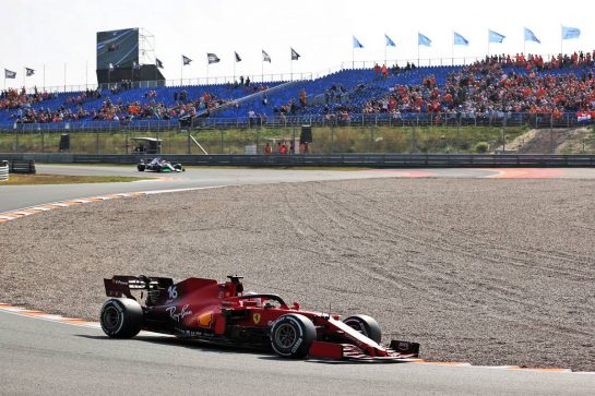 Charles Leclerc (MON) Ferrari SF-21. 03.09.2021. Formula 1 World Championship, Rd 13, Dutch Grand Prix, Zandvoort, Netherlands, Practice Day. - www.xpbimages.com, EMail: requests@xpbimages.com © Copyright: Charniaux / XPB Images